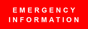 Emergency information logo